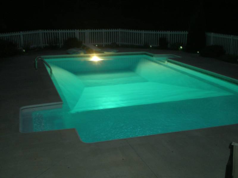 Inground pools at night 100k Nighttime Swimming Diamond Pools And Spa Customer Testimonials